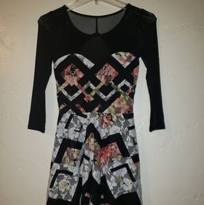 NWT Material Girl Floral dress